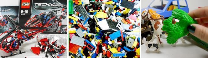 Spielzeug- und Lego-Bearbeitung bei ZOXS