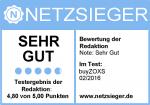 Netzsieger buyZOXS Siegel
