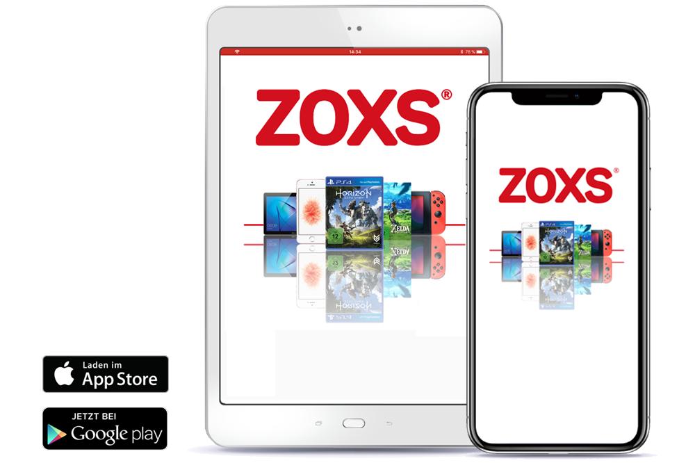 Tablet und iPhone mit ZOXS-App