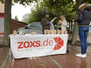 """Aktionsstand zur """"essbaren Stadt"""" Wesel"""