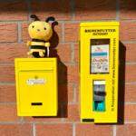 Bienenfutter-Automat und Behälter-Rückgabe