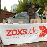 Aktionsstand in Wesel