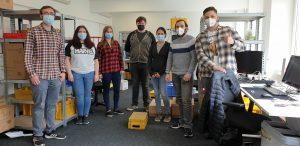 Unsere ZOXS-Crew aus Duisburg
