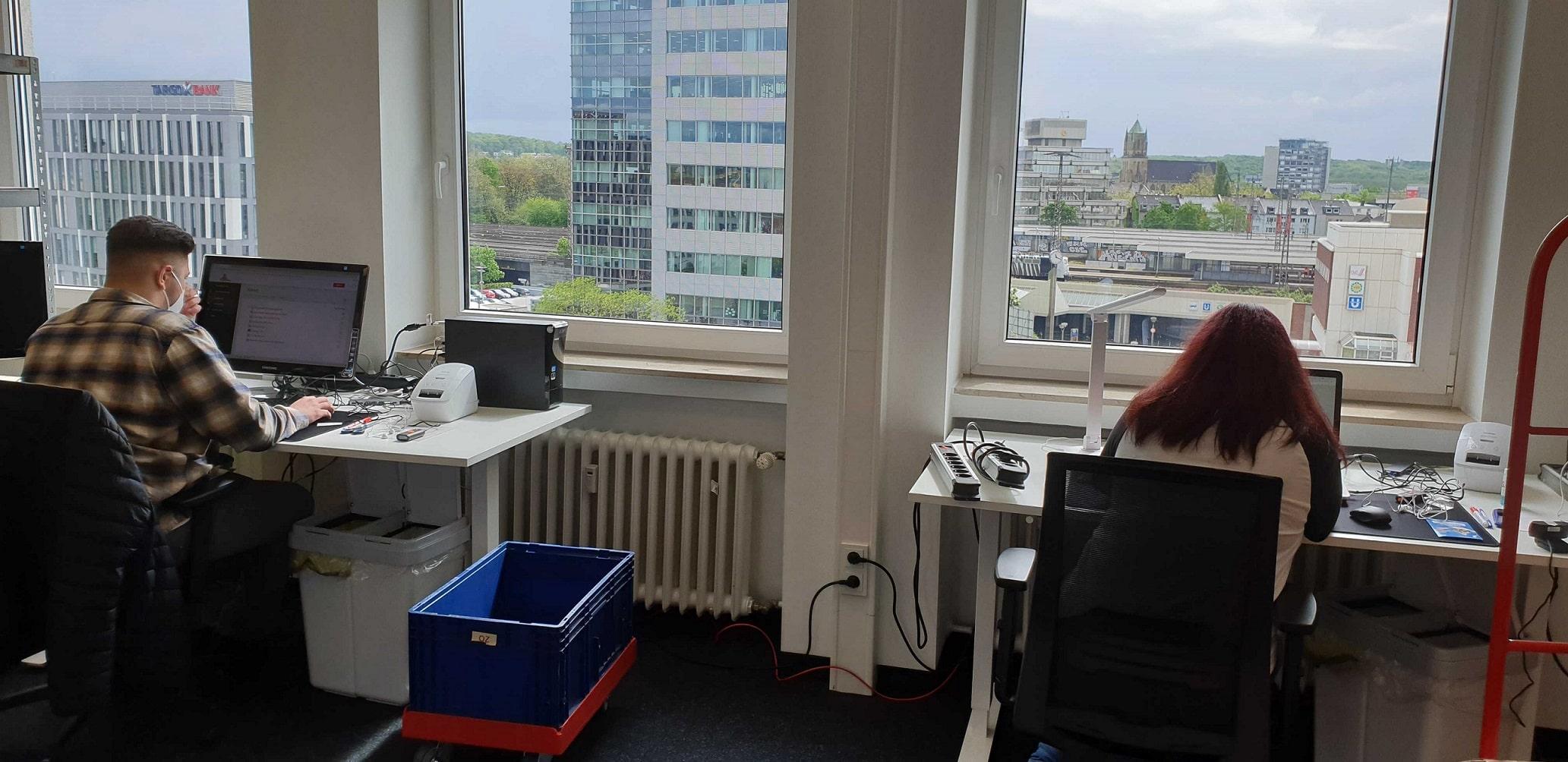 Standort Duisburg: Arbeiten mit Aussicht, direkt am Hauptbahnhof