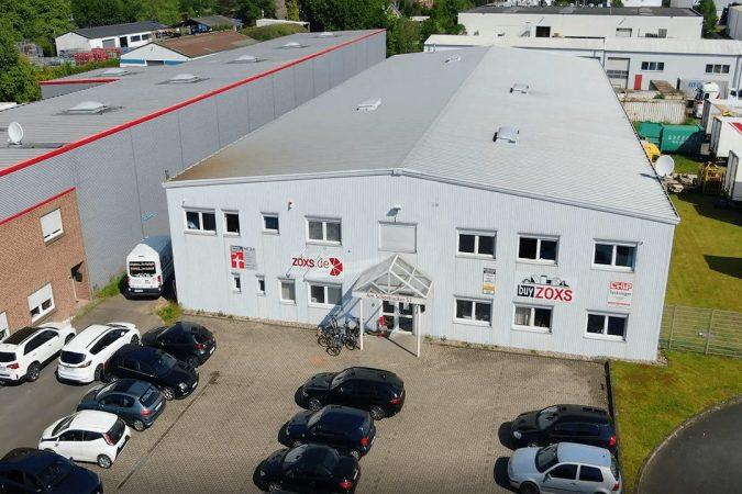 Das Firmengebaeude von ZOXS in Wesel