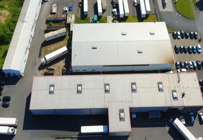 Luftaufnahme des Hauptstandortes von ZOXS in Wesel