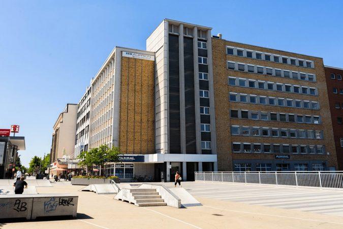 Gebäudeansicht von ZOXS in Duisburg