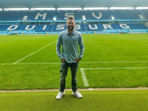 Olaf Zimmer im MSV Stadion